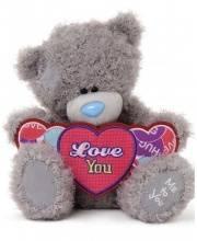 Мишка Тедди 25 см с Сердцем Я Тебя Люблю Me to You