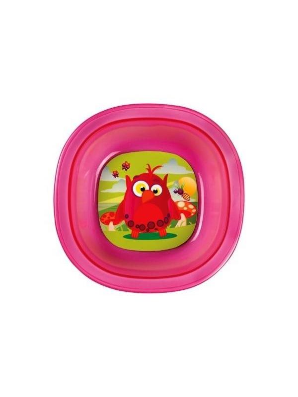 Мисочка детская Munchkin (розовый)
