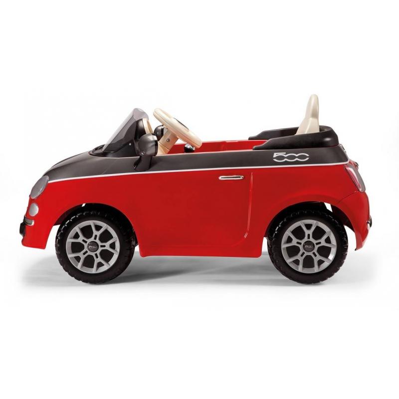 Электромобиль FIAT 500ЭлектромобильFIAT 500 красного цвета марки Peg-Perego.<br>ЭлектромобильFIAT 500 – современный, стильный, универсальный детский автомобиль, разработанный компанией Peg-Perego совместно со специалистами FIAT. Прекрасно подходит как для городских условий, так и для загородного дома.Яркий и безопасный электромобиль Peg Perego обязательно понравится малышам и их родителям. Пульт управления позволит контролировать езду малыша.<br>Максимальная нагрузка: 20 кг<br>Время беспрерывной езды: 85 мин<br>Ремни безопасности: Есть<br>В комплекте: пульт управления<br>Размеры: 116 x 62 x 44 см.<br>Веc: 17 кг<br><br>Возраст от: 2 года<br>Пол: Не указан<br>Артикул: 633123<br>Страна производитель: Италия<br>Бренд: Италия<br>Размер: от 2 лет<br>Привод: Электрический