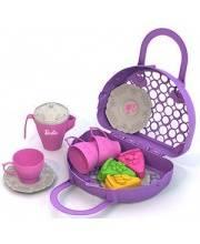 Набор посудки и пирожных Барби Нордпласт