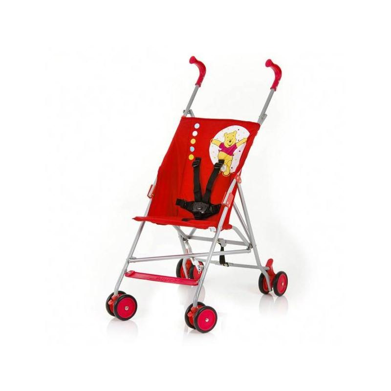 Коляска-трость GO-S V Disney Pooh RedПрогулочная коляска-тростьGO-S V Disney Pooh Redрозовогоцвета маркиHauck.<br>GO-S V серии Disney – это летняя прогулочная коляска, которая порадует многих родителей своей компактностью, легким весом и прочностью. Кроме того, коляска имеет приятный яркий дизайн с изображениями героев любимых диснеевских персонажей. Маневренные колеса делают прогулки с крохой по-настоящему беззаботными и приятными. Коляска GO-S V Disney Pooh – это сочетание отличного европейского качества и стильного яркого дизайна.<br>Особенности коляски GO-S V Disney Pooh:-дизайн этой коляски выполнен в ярких цветах с изображениемвсеми любимого медвежонка - Винни Пуха, знакомого каждому ребенку;-5-точечные мягкие ремни безопасности;-маневренные колеса с возможностью фиксации (тормоз на задних колесах);-глубокое и удобное посадочное место для вашего крохи;-размеры коляски в сложенном состоянии: 111 х 21 х 15 см;-вес коляски: 4,7 кг;-диаметр колес: 12 см;-максимальная нагрузка: до 15 кг.Коляска складывается тростью, все материалы, из которых она сделана абсолютно гипоаллергенны.<br><br>Цвет: Красный<br>Возраст от: 6 месяцев<br>Пол: Не указан<br>Артикул: 628849<br>Бренд: Германия<br>Размер: от 6 месяцев<br>Механизм складывания: Трость<br>Колеса: Пластиковые<br>Количество блоков: 1<br>Количество колес: 8