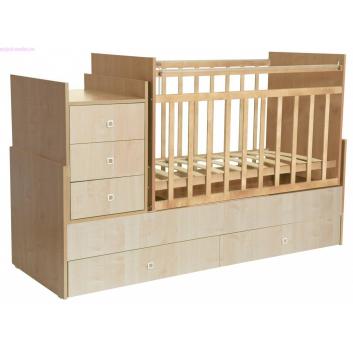 Кроватка детская Клён