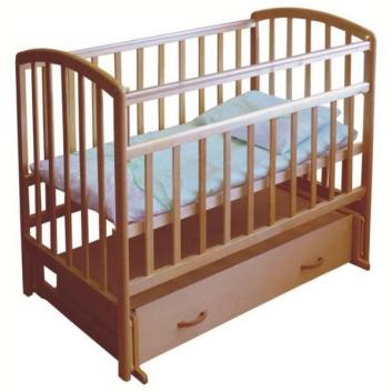 Кровать детская Орех