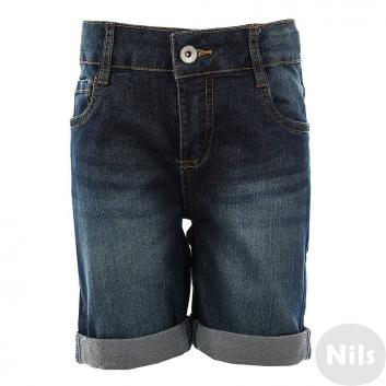 Мальчики, Джинсовые шорты INCITY KIDS (темносиний)635378, фото