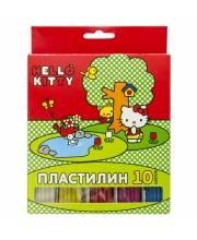 Пластилин Hello Kitty 10 цв 200 г ACTION!