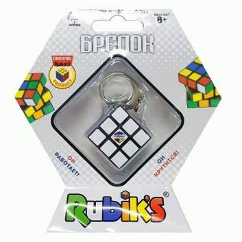 Игрушки, Головоломка-брелок Мини-кубик Рубика Rubiks 622394, фото