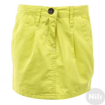 Девочки, Юбка INCITY KIDS (желтый)635281, фото