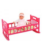 Кроватка для кукол Муси-Пуси