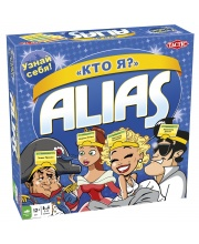 Настольная игра Alias Скажи иначе Кто Я Tactic