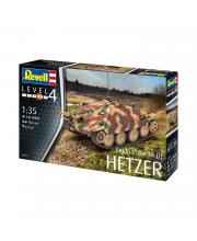 Сборная модель истребитель танков Jagdpanzer 38t Revell