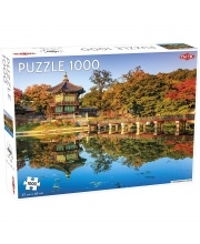 Пазлы дворец Кёнбоккун Южная Корея 1000 элементов