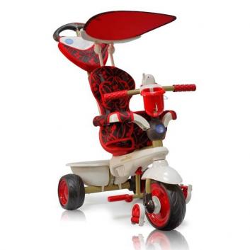 Спорт и отдых, Велосипед трехколесный Dream Touch Steering Smart Trike (красный)630592, фото