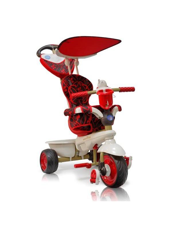 Велосипед трехколесный Dream Touch Steering Smart Trike (красный)