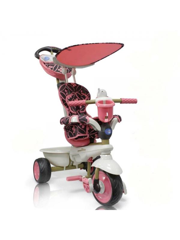 Велосипед трехколесный Dream Touch Steering Smart Trike (розовый)
