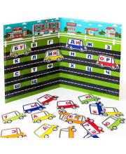 Магнитная книга Читаем по слогам База игрушек
