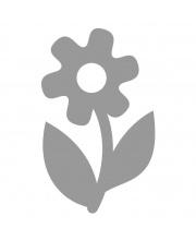 Светоотражающая термоаппликация цветочек