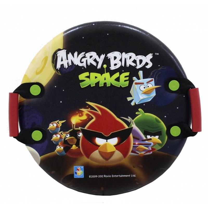 Ледянка Angry Birds 54 смЛедянка Angry Birds 54 см. марки 1Toy.<br>Холода и снег еще не повод детям оставаться дома. Настает пора катания с горок. Ледянка с изображением любимых героев игры Angry Birds- идеальное решение для мальчиков и девочек.<br><br>Катание на ледянке с горок - одно удовольствие! Ледняка изготовлена из вспененного морозостойкого пластика. Благодаря материалу, из которого она изготовлена, ледянка очень легкая, поэтому ребенок сможет без труда поднимать ее на горку раз за разом. Плотные ручки позволяют крепко держаться при катании и дают возможность управлять ледянкой при спуске, а форма позволяет быстро спускаться с горы.<br>Диаметр: 54 см.Материал: вспененный пластик.<br><br>Возраст от: 3 года<br>Пол: Не указан<br>Артикул: 636150<br>Бренд: Китай<br>Лицензия: Angry birds<br>Размер: от 3 лет