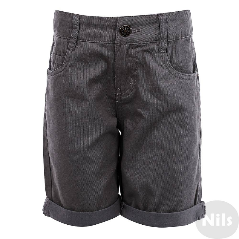 Джинсовые шорты - INCITYДжинсовые шортысерогоцвета марки INCITY для мальчиков.<br>Однотонная базовая модель на молнии из чистого хлопка с передними и задними карманами, а также декоративными отворотами на штанинах.<br><br>Размер: 3 года<br>Цвет: Серый<br>Рост: 98<br>Пол: Для мальчика<br>Артикул: 635343<br>Страна производитель: Бангладеш<br>Сезон: Весна/Лето<br>Состав: 100% Хлопок<br>Бренд: Россия<br>Вид застежки: Молния