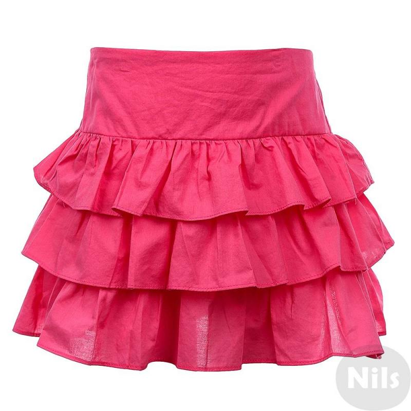 ЮбкаЮбка розовогоцвета марки INCITY.<br>Однотонная ярусная юбка из чистого хлопка с удобной резинкой на талии.<br><br>Размер: 7 лет<br>Цвет: Розовый<br>Рост: 122<br>Пол: Для девочки<br>Артикул: 635549<br>Страна производитель: Китай<br>Сезон: Весна/Лето<br>Состав: 100% Хлопок<br>Бренд: Россия