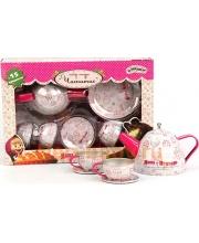 Набор посуды Чайный сервиз 15 предметов МАША И МЕДВЕДЬ