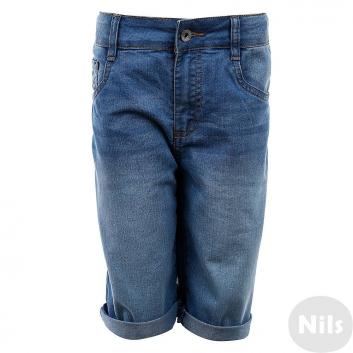 Мальчики, Джинсовые шорты INCITY KIDS (голубой)635382, фото