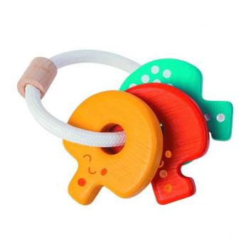 Игрушки, Погремушка Ключи Plan Toys 634687, фото