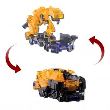 Игрушки, Машинка-трансформер Ти-Реккер Screechers Wild РОСМЭН 307692, фото