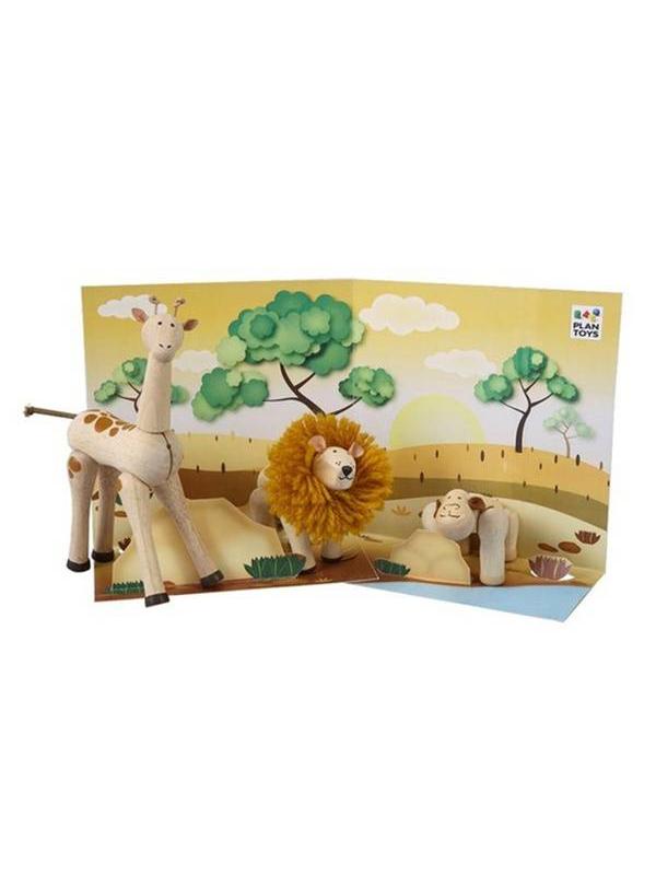 Набор Животные Африки Plan Toys