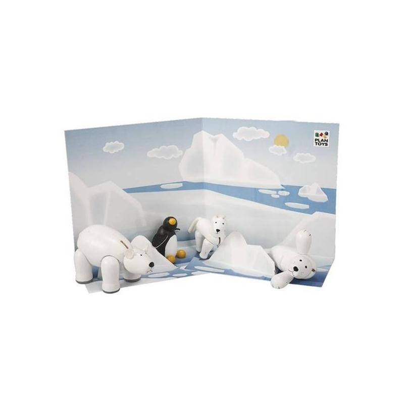 Набор Животные СевераНабор Животные Севера маркиPlan Toys.<br>Таиландская фирма Plan Toys производит качественные игрушки, которые не только способствуют быстрому и гармоничному развитию ребенка, но и доставляют ему много радости. Все игрушки Plan Toys производятся из качественных нетоксичных материалов, безопасных для ребенка.<br>С этим набором игрушек ваш малыш будет не только весело проводить время, но и узнавать много нового о мире животных.<br><br>Возраст от: 3 года<br>Пол: Не указан<br>Артикул: 634692<br>Бренд: Таиланд<br>Размер: от 3 лет<br>Материал: Дерево