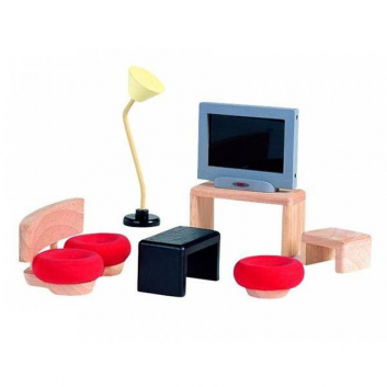Мебель для кукол Декор Гостиная
