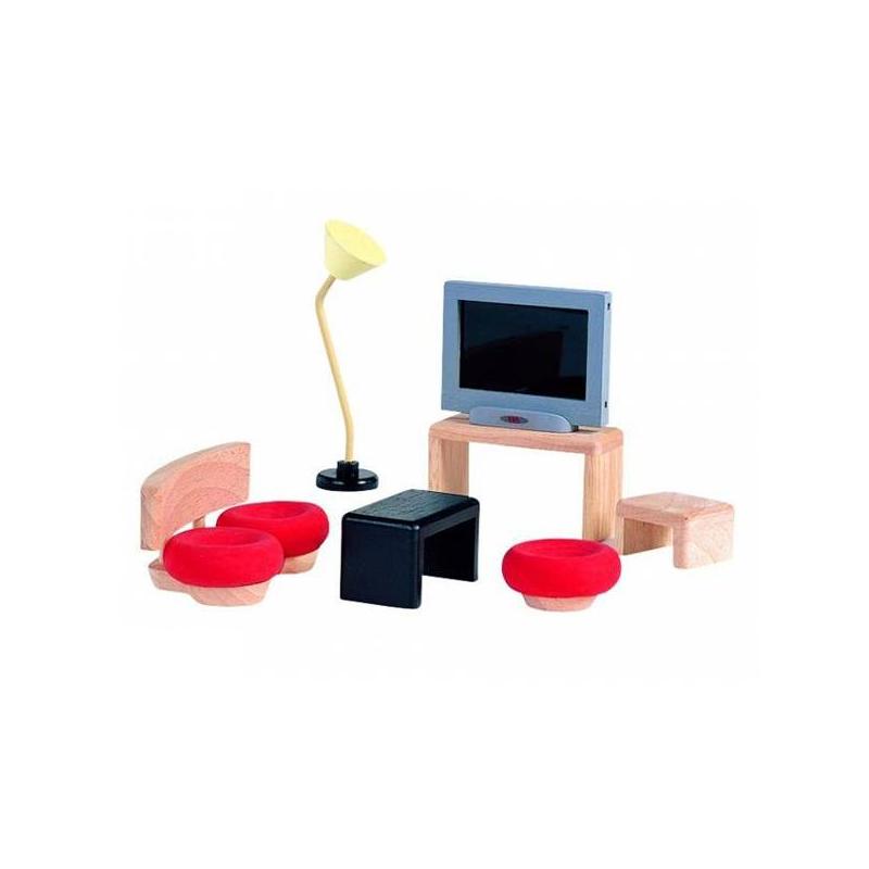 Plan Toys Мебель для кукол Декор Гостиная