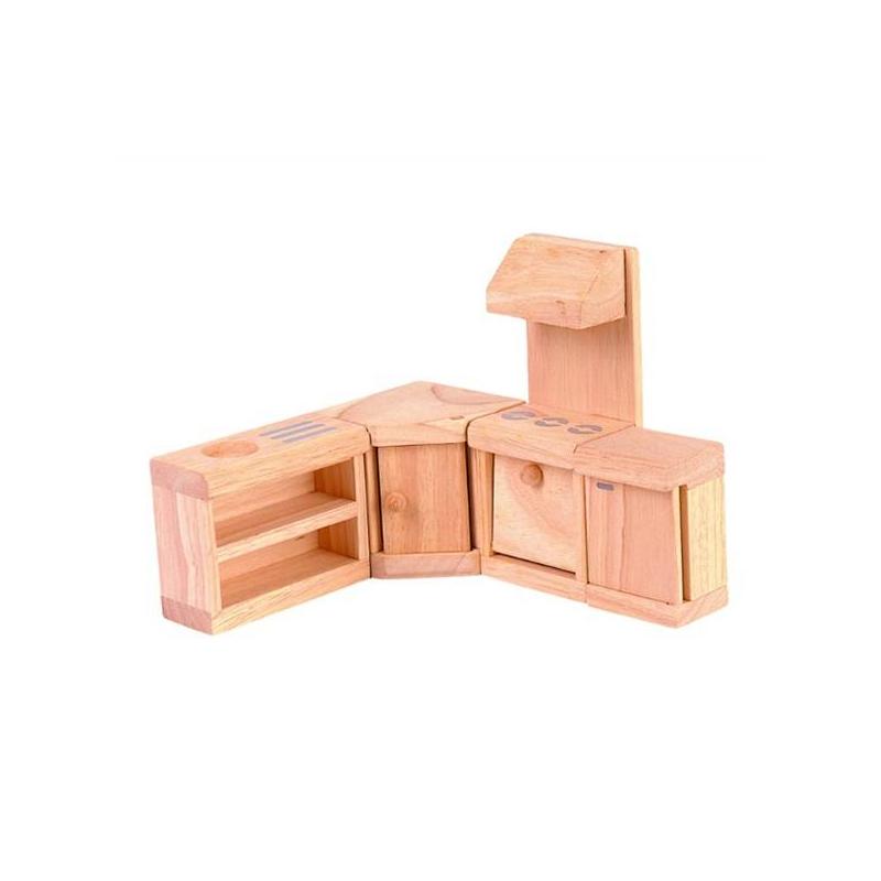 Купить Мебель для кукол Классик Кухня, Plan Toys