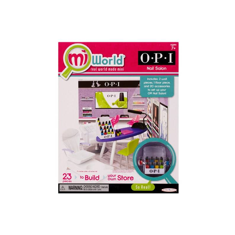 MiWorld Игровой набор O.P.I. Ногтевой салон miworld игровой набор o p i ногтевой салон