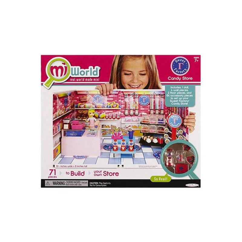 MiWorld Игровой набор Большой магазин сладостей