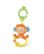 Игрушка Веселая обезьянка с колечком