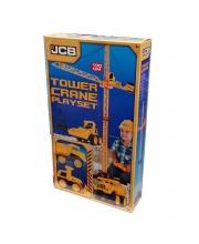 Строительный кран JCB 100 см на Д/У с 2 машинками HTI