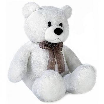 Медведь белый сидячий 74 см