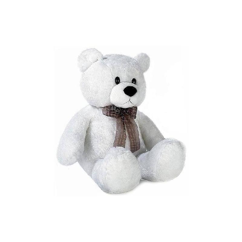 Медведь белый сидячий 74 смМягкая игрушка Медведь белый сидячий 74 см. маркиAurora.<br>Этот плюшевый медвежонок отличается превосходным качеством и способствует развитию у детей воображения и тактильной чувствительности. К тому же внутри игрушки имеютсяплacтмaccoвыe гpaнулы, которые помогают лучшеразвивать тактильные навыки. Игрушка сделана из безопасных для детей материалов (гипоаллергенные плюш и синтепон).<br><br>Возраст от: 3 года<br>Пол: Не указан<br>Артикул: 633888<br>Бренд: Южная Корея<br>Размер: от 3 лет