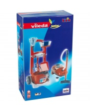 Игровой набор тележка с пылесосом и аксессуарами для уборки KLEIN