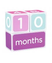 Кубики от 1 до 12 месяцев