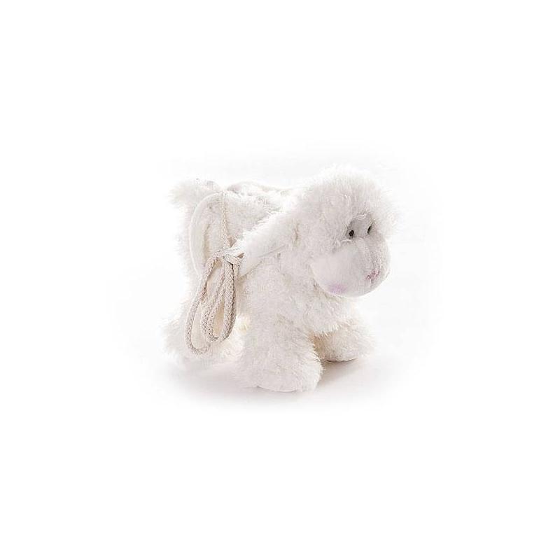Овечка-сумка 30 смМягкая игрушка Овечка-сумка 30см. маркиAurora.<br>Эта сумочка просто создана для того, чтобы брать ее с собой на прогулку или в гости. Ведь у каждого малыша есть любимые вещи, с которыми никогда не хочется расставаться. Благодаря этой сумочке в виде овечки ваш ребенок сможет взять с собой все, что захочет.<br> <br>Малышке будет удобно носить ее самой, ведь у сумочкиесть мягкие ручки и специальный ремешок. Вам не стоит переживать, что игрушка быстро запачкается или потеряет вид: ее можно стирать в машинке или вручную, и она всегда будет выглядеть, как новая. Сумочка сшита из безопасных для ребенка, гипоаллергенных материалов.<br><br>Возраст от: 3 года<br>Пол: Для девочки<br>Артикул: 634565<br>Бренд: Южная Корея<br>Размер: от 3 лет