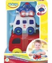 Игрушка музыкальная пирамидка Машинки ToysLab