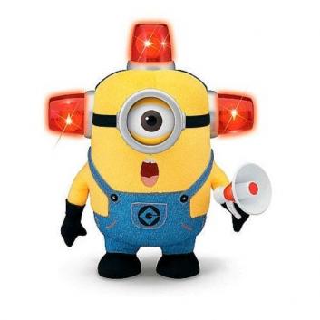 Интерактивная игрушка Миньон Стюарт Пожарный