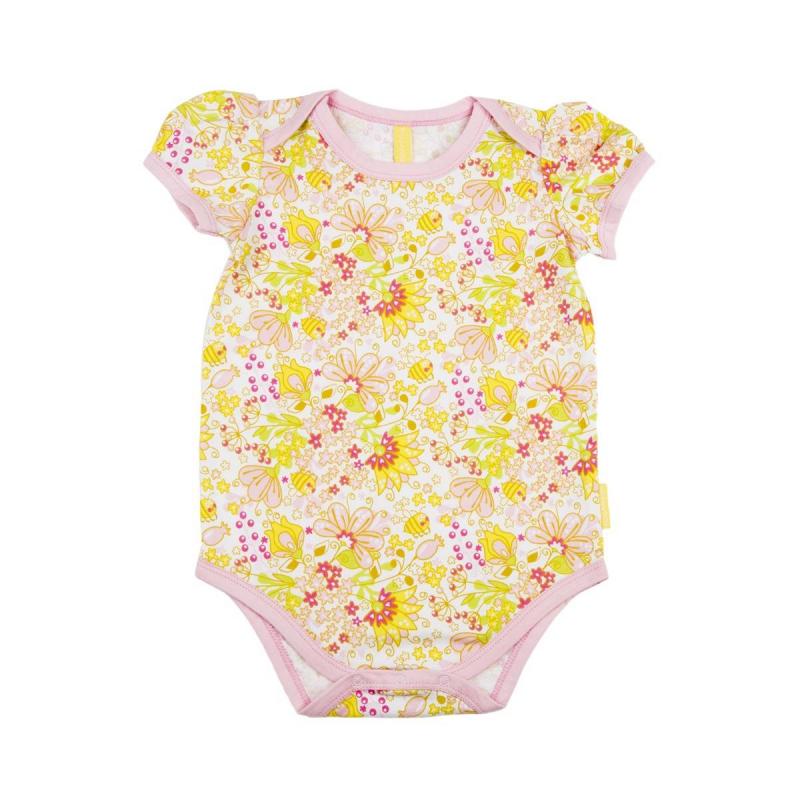 БодиБоди розовогоцвета маркиKOGANKIDS для девочек.<br>Боди с короткимрукавом выполнено из чистого хлопка и декорировано ярким цветочнымпринтом. Застегивается на кнопки по шаговому шву для удобства переодевания малышки.<br><br>Размер: 12 месяцев<br>Цвет: Розовый<br>Рост: 80<br>Пол: Для девочки<br>Артикул: 637179<br>Страна производитель: Узбекистан<br>Сезон: Всесезонный<br>Состав: 100% Хлопок<br>Бренд: Россия<br>Вид застежки: Кнопки