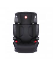 Автокресло LO-Hugo isofix Leather Black Lionelo