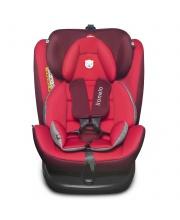 Автокресло LO-Bastiaan isofix 360 Red/Black Lionelo