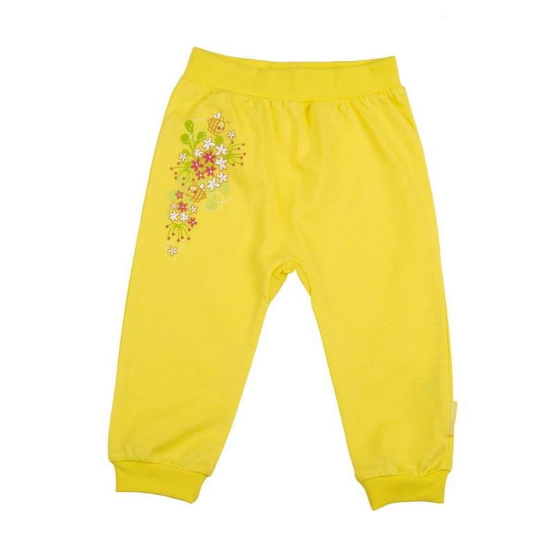 БрюкиБрюки желтогоцвета маркиKOGANKIDS длядевочек.<br>Брюки выполнены из чистого хлопка и декорированы ярким летним принтом. Модель с удобной широкой резинкой на поясе и манжетами.<br><br>Размер: 3 месяца<br>Цвет: Желтый<br>Рост: 62<br>Пол: Для девочки<br>Артикул: 637167<br>Страна производитель: Узбекистан<br>Сезон: Всесезонный<br>Состав: 100% Хлопок<br>Бренд: Россия