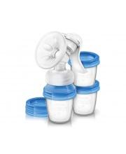 Молокоотсос ручной с принадлежностями Серия Natural Philips Avent