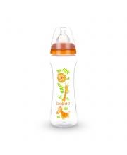 Бутылочка с соской силик. 330 мл Safari BABOO