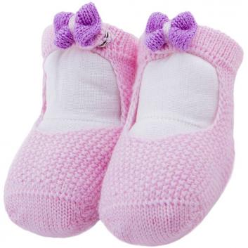 Малыши, Пинетки R&I (розовый)637883, фото